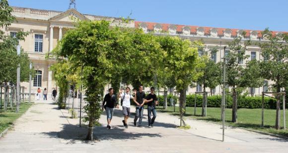 Le campus de l'université d'Avignon