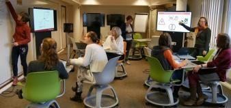 A l'université catholique de Louvain, le learning lab a ouvert ses portes il y a 23 ans. //©UCLouvain