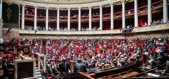 Le projet de loi de programmation de la recherche a été adopté à l'Assemblée nationale par 48 voix contre 20. //©HAMILTON/REA