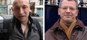 Luc Cédelle et Jérôme Valluy