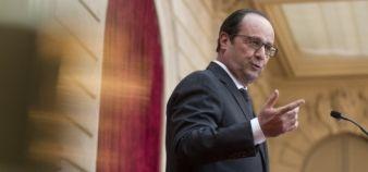François Hollande - président de la République - novembre 2014 //©Revelli-Beaumont / pool / REA