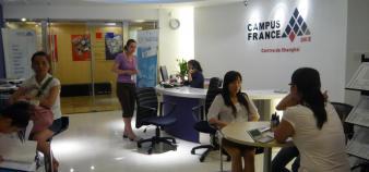 Campus France à Shanghai // ©S.Lecherbonnier