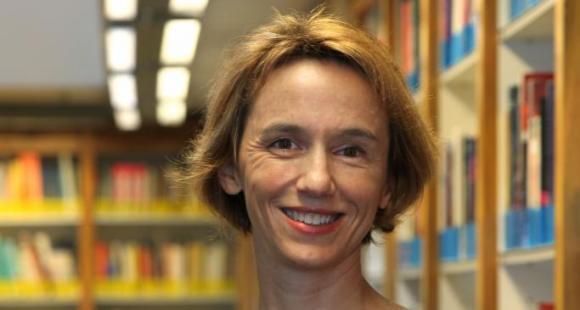 Hélène Michel, professeur à GEM et initiatrice du laboratoire // ©MS Leturcq