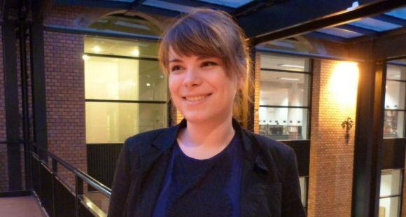 Julie Millot, community manager de l'EM Strasbourg // DR