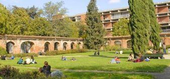 Toulouse 1 a expérimenté la mise en conformité de bâtiments datant des années 1970 et la recherche de surfaces supplémentaires. //©UT Capitole