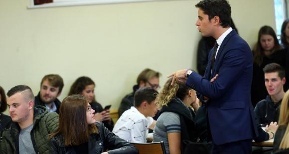 Gabriel Attal précise le mode de fonctionnement du SNU