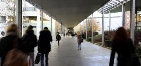 Portée, entre autres par les trois universités lilloises, l'Université Lille-Nord-Europe s'articulera autour de trois domaines : la santé, l'environnement et le monde numérique. //©Franck CRUSIAUX/REA