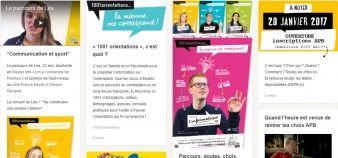 Avec 1001 orientations, l'académie de Rennes mise sur les réseaux sociaux pour inciter les lycéens à continuer leurs études. //©Académie de Rennes