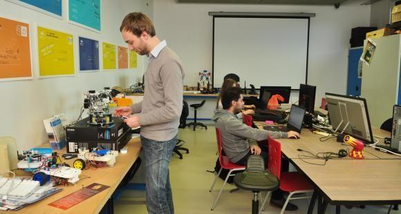 """Le Techlab de Mines-Nancy pourrait s'enrichir d'une salle dédiée au travail en mode """"projet"""", ainsi d'un espace de brainstorming/créativité."""