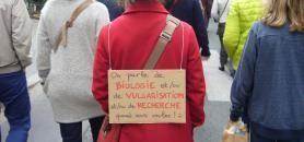 Le 22 avril 2017, des milliers de personnes ont défilé en France lors de la première Marche pour les sciences. //©Catherine de Coppet