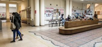À la tête de l'établissement depuis mars 2013, Frédéric Mion l'assure : Sciences Po a assaini sa situation budgétaire. //©Gilles ROLLE/REA