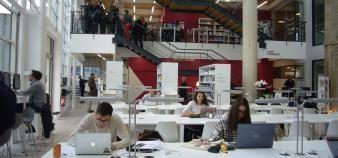 À Burgundy School of Business, on croit aux avantages du statut d'EESC. //©Cécile Peltier