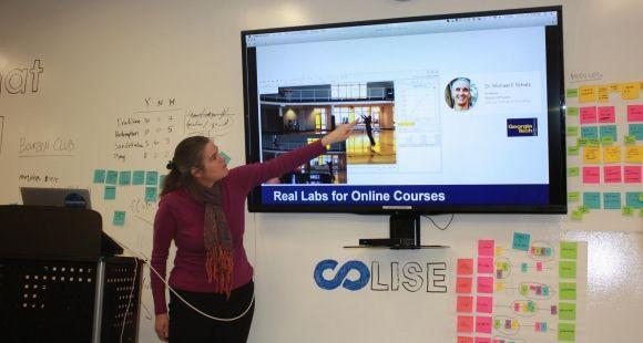 Daphné Koller, présidente de Coursera - octobre 2014