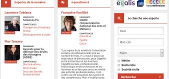 Le site Les expertes a pour objectif de rendre davantage visibles les femmes dans les médias //©Les Expertes