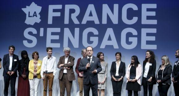 """15 nouveaux lauréats de """"la France s'engage"""", lundi 22 juin 2015"""