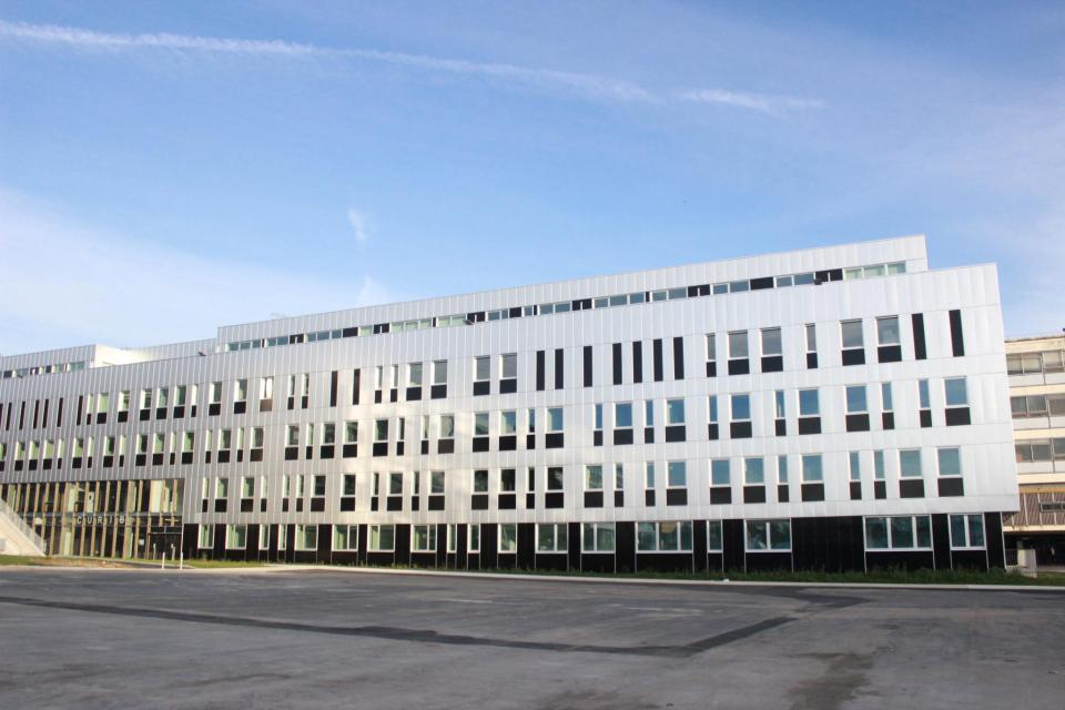Curib, nouveau bâtiment de l'université de Rouen //©Delphine Dauvergne