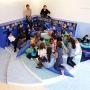 A l'école élémentaire du Petit Coin à Saint-Étienne, les élèves ont travaillé sur la rénovation d'un espace partagé avec la designer Agathe Chiron //©Aurélien Dupuis
