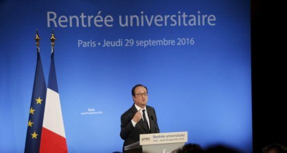 Prises séparément, les mesures prises par François Hollande pendant le quinquennat pour l'enseignement supérieur recueillent l'adhésion.
