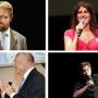 Quatre des finalistes du concours MT180. //©CPU / CNRS