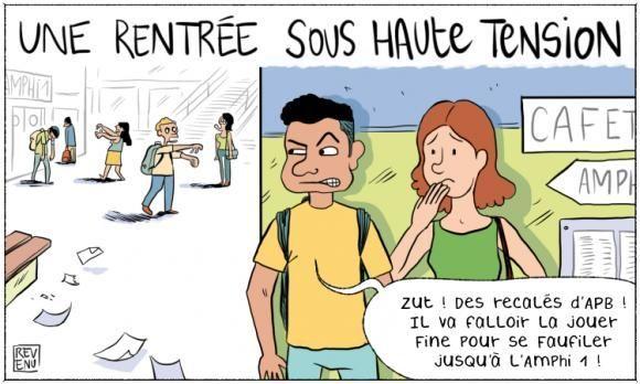 En Dessin A La Rentree 2017 Toujours Plus D Etudiants A L