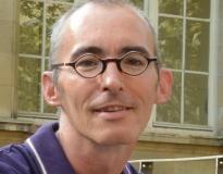 Xavier Bourdenet, responsable du parcours lettres de la mention second degré du master MEEF de l'Espé de Paris //©erwin canard