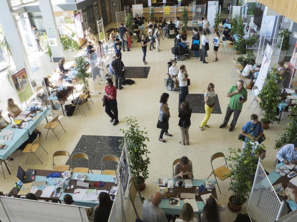 Le 9 février 2008, un forum emploi destiné aux étudiants en situation de handicap était organisé par l'université Toulouse 3. / ©UPS //©UPS