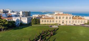 Vue panoramique du jardin du Pharo où se trouve le siège d'Aix-Marseille université dans la cité phocéenne. //©Sarah Chambon