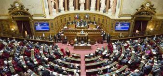 Le Sénat a adopté en première lecture le projet de loi de programmation de la recherche 2021-2030. //©Romain Beurrier/REA