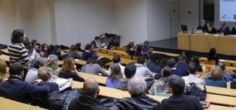 L'après-Charlie - Université Paris-Est-Créteil - Débat sur la liberté d'expression - 20 janvier 2015 //©Camille Stromboni