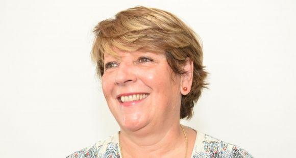 Christine Legrand, présidente d'Euprio et directrice de la communication de CPE Lyon.