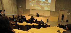 Un amphi de sciences humaines à l'université Rennes 2