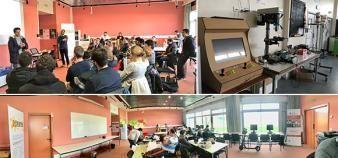 Le Catalyseur : un espace de co-working, un fablab et un showroom au cœur du campus de Rangueil à Toulouse. //©Le Catalyseur