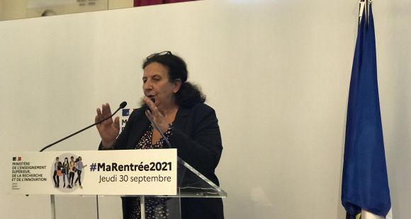 Lutte contre la précarité et les VSS, ouverture de places, Frédérique Vidal fait sa rentrée 2021