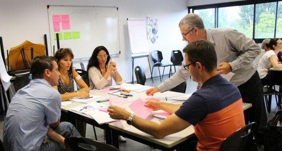 A l'UPMF, formation de formateurs au module créativité dans le cadre de l'Idefi Promising
