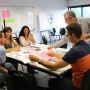 A l'UPMF, formation de formateurs au module créativité dans le cadre de l'Idefi Promising //©Promising-UPMF
