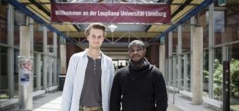 L'EUA recense toutes les actions des universités en faveur des réfugiés. Ici, l'université de Lunebourg en Allemagne. //©Maria Feck/LAIF-REA