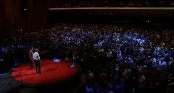 Conférence TED Salman Khan 2011 © TED
