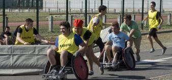 Les étudiants handicapés de l'université Toulouse 3 ont accès au moins à une activité de sport adaptée. //©UPS