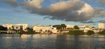 Le pôle Guadeloupe de l'université des Antilles //©UA