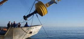 Inauguré en août 2015 et situé au large du Croisic, SEM-REM est un site d'essai en mer pour les énergies marines renouvelables. //©Centrale Nantes