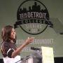 Le rap de Michelle Obama fait partie d'une initiative plus large dont le but est d'inciter les lycéens à s'inscrire à la fac. Ici, en mai 2015 pour le