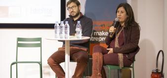 Pour Maximilien Bacot et Marie-Christine Levet, la gamification et l'apprentissage personnalisé sont les deux grandes tendances des investissements EdTech. //©EducPros