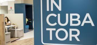 L'incubateur d'emlyon business school, ouvert en 1984, est l'un des pionniers de l'enseignement supérieur. //©Stephane AUDRAS/REA