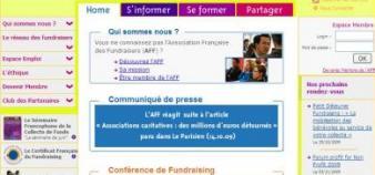 Site web de l'AFF