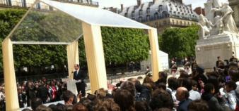 Hollande aux Tuileries