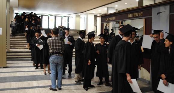 Cérémonie des docteurs de Sorbonne universités - Assas - ©C.Stromboni-mai2011