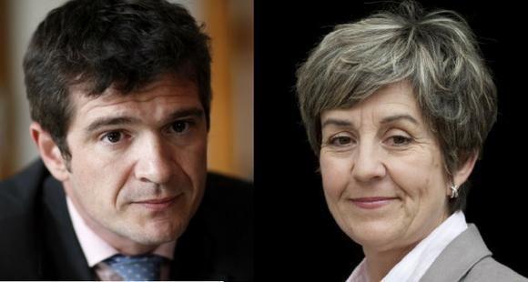 Benoist Apparu, député LR de la Marne, et Sandrine Doucet, députée PS de Gironde, ont analysé les effets de la loi Fioraso, trois ans après. //©Franck Grusiaux et Baptiste Fenouil - REA