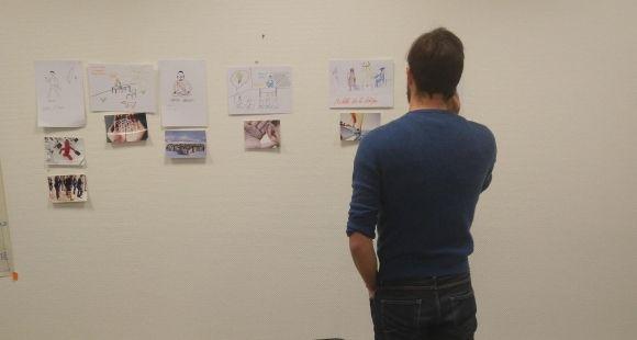 Hugo Carlotti alterne entre les cours à HEC, les séminaires et modules d'Arts et Métiers et le développement de son prototype d'exosquelette avec le CHU Pellegrin à Bordeaux.
