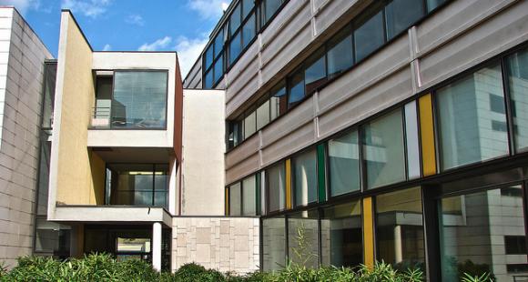 La façade de l'ENSGSI à Nancy.