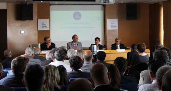 Najat Vallaud-Belkacem - présidents d'université - août 2014 ©CPU